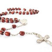Rosary Beads Art Print