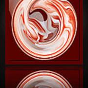 Rose In Orb Art Print