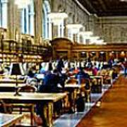 Rose Main Reading Room New York Public Library Art Print