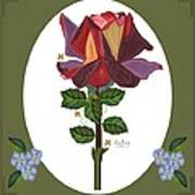 Rose of a Different Color Art Print