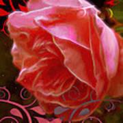 Rose Rose And Rose Art Print