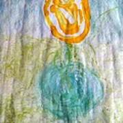 Rose Vase One Art Print
