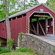 Rosehill Covered Bridge Art Print