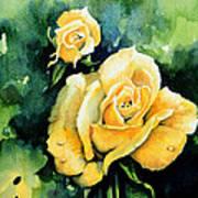 Roses 5 Print by Hanne Lore Koehler