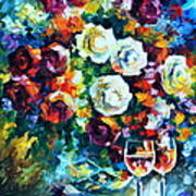 Roses And  Art Print