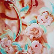 Roses And Rust Art Print