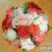 Roses Antiqua Art Print