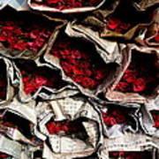 Roses For Sale Art Print