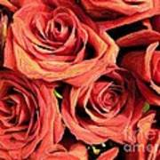 Roses For Your Wall  Art Print