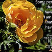 Roses Have Thorns Art Print