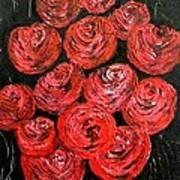 Roses Art Print by Kat Poon