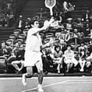 Rosewall Playing Tennis Art Print