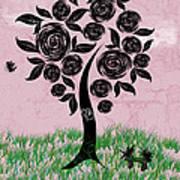 Rosey Posey Art Print