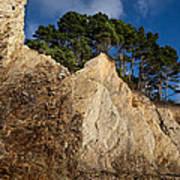 Ross Creek Cliffs Art Print