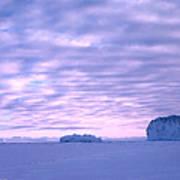 Ross-iceshelf-g.punt-2 Art Print
