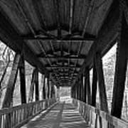 Roswell Bridge 1 Art Print