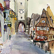 Rothenburg Art Print