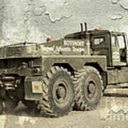 Rotinoff Tractor  Art Print