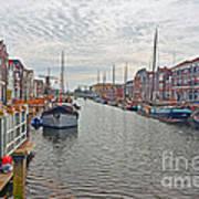 Rotterdam Canal Art Print