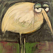 Rotund Bird Art Print