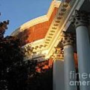 Rotunda At The University Of Virginia Art Print