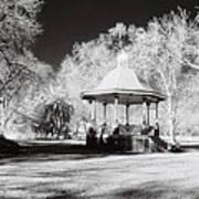 Rotunda Benalla Botanical Gardens Art Print