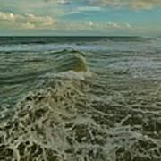 Rough Surf Hatteras 2 10/17 Art Print