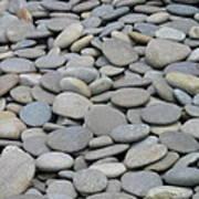Round Rocks Art Print