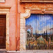Roussillon Door Art Print