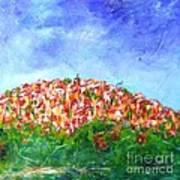 Roussillon Village Art Print