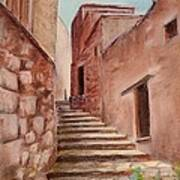 Roussillon Walk Art Print