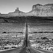 Route 163 Art Print