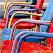 Route 66 Chairs Art Print