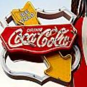 Route 66 Coca Cola Art Print