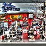 Route 66 Collage Art Print