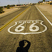 Route 66 Daggett California Art Print