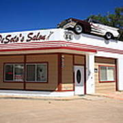 Route 66 - Desoto's Salon Art Print