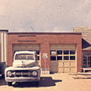 Route 66 Garage Art Print