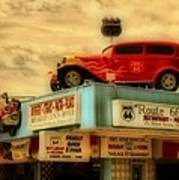 Route 66   Hdr Art Print