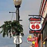 Route 66 In Williams Arizona Art Print