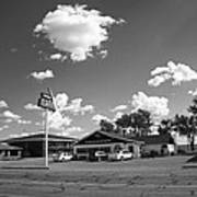 Route 66 - Midpoint Cafe Adrian Texas Art Print