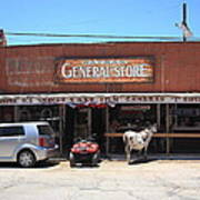 Route 66 - Oatman General Store Art Print