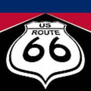 Route 66 - U. S. Art Print