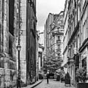 Route Parisian Art Print