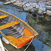 Row Boat Art Print