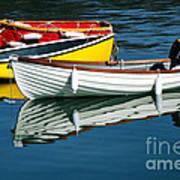 Row-boats Art Print