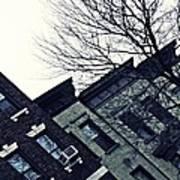 Row Houses In Washington Heights Art Print
