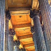 Row Of Pillars Art Print