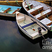 Rowboats Print by Diane Diederich