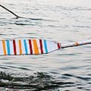 Rowing Oar Art Print